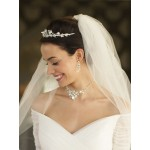 Top-Selling Handmade Tiara, Necklace & Earrings Set with Genuine Crystals